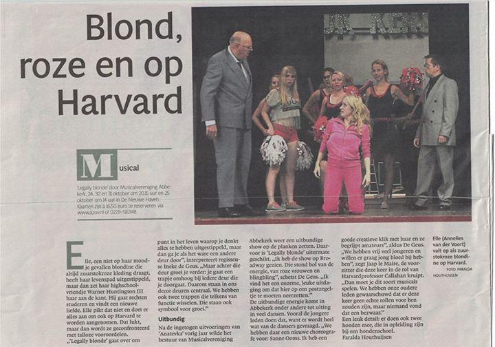 Vanochtend stond er een groot artikel van ons in het Noordhollands Dagblad Heb j…