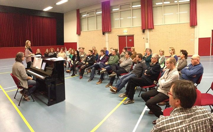 De eerste repetitie van 2014. Een mooie opkomst met veel aspirant leden :). Een …