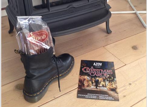 Tussen de Sintfestiviteiten door zet AZOV Musicals zijn beste 'kerst' beentjes v…